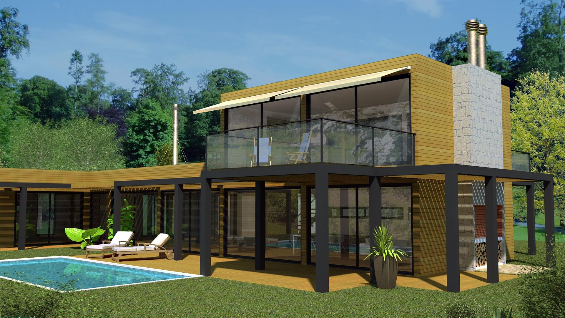Projectos de arquitectura de casas modulares - Casas modulares home 3 ...