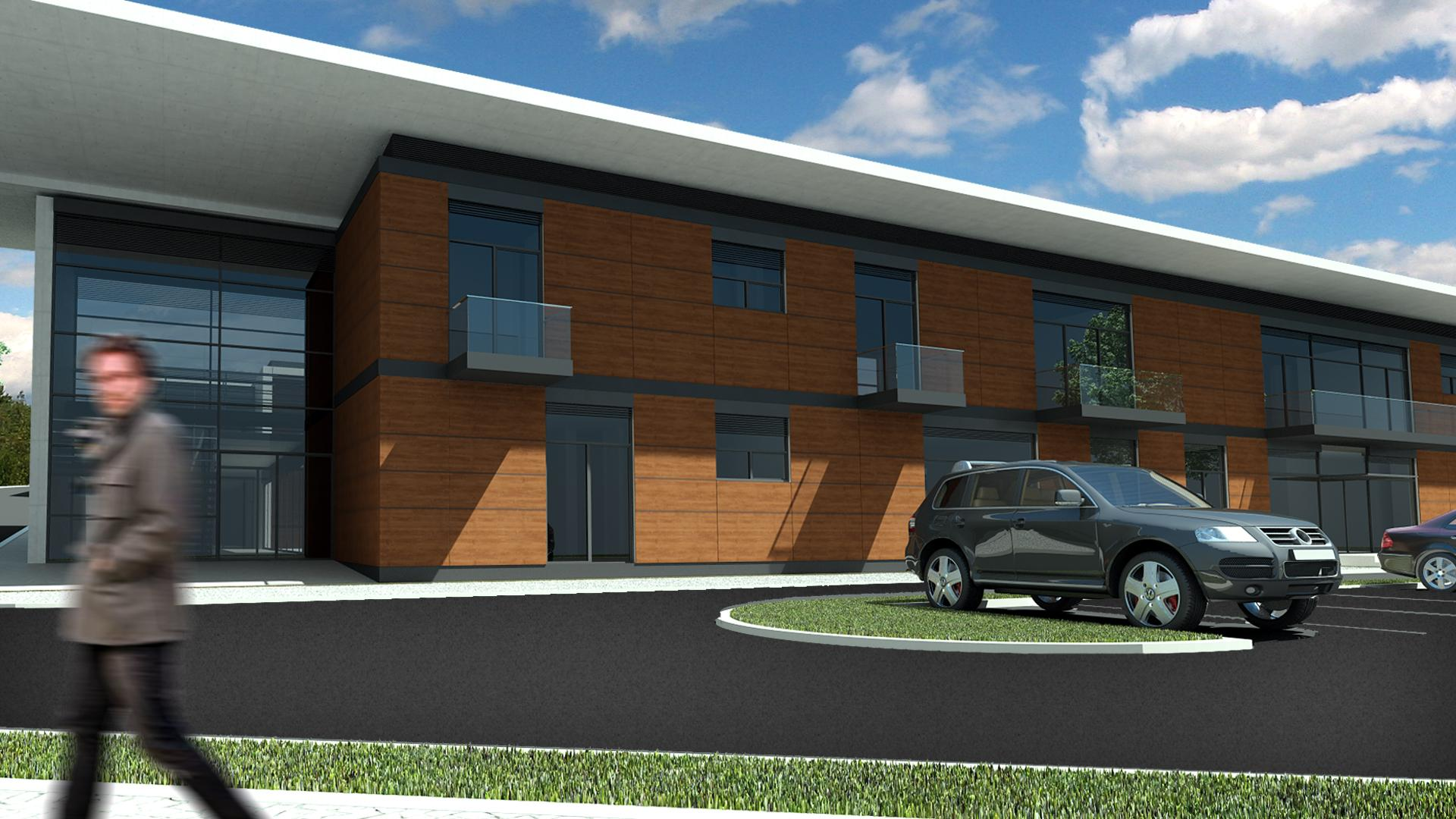Architectural project of a long-term acute care facility