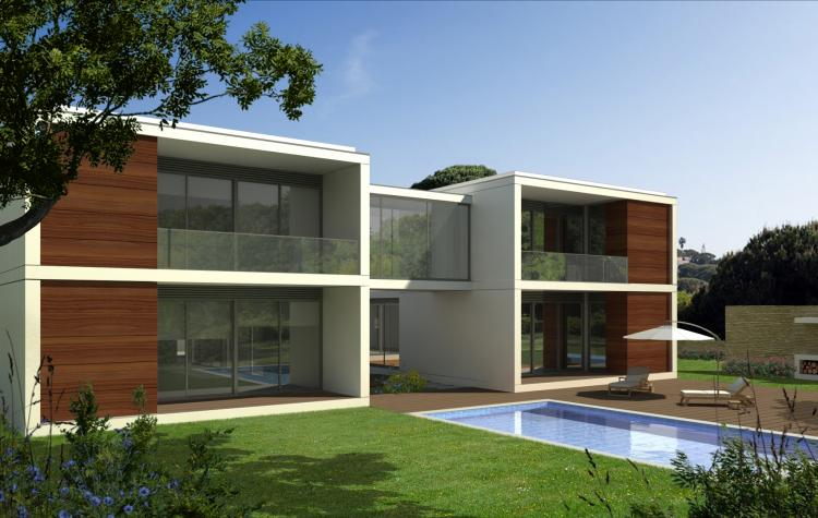 Set of housing projects produced for the Angolan market